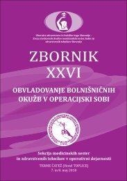 Zbornik XXVI - perioperativna zdravstvena nega