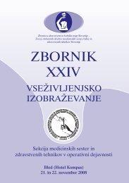 ZBORNIK XXIV - perioperativna zdravstvena nega