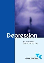 Depression - Eine Information für Patienten und Angehörige