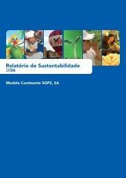 Relatório de Sustentabilidade - Sonae