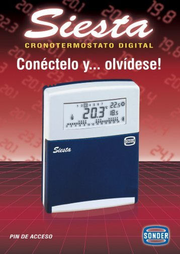 SIESTA CR-Español - Sonder
