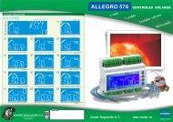 Documentación técnica y comercial del Allegro 576 - Sonder