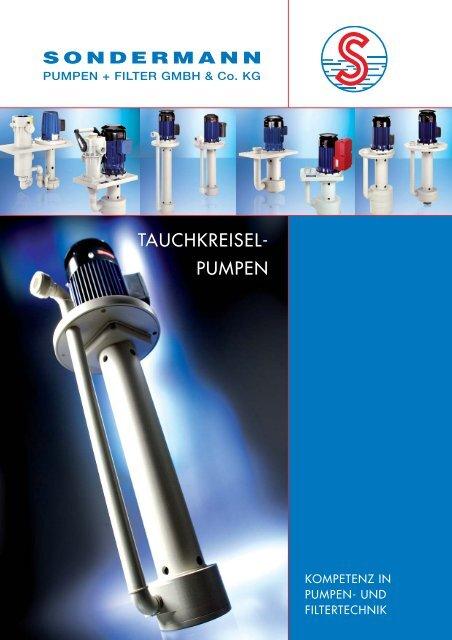 pumpen - SONDERMANN Pumpen + Filter GmbH & Co. KG
