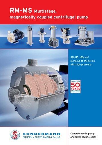 RM-MS Info - SONDERMANN Pumpen + Filter GmbH & Co. KG