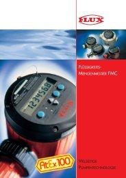 vielseitige pumpentechnologie flüssigkeits- mengenmesser fmc