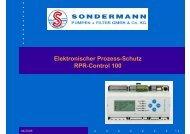 Elektronischer Prozess-Schutz RPR-Control 100