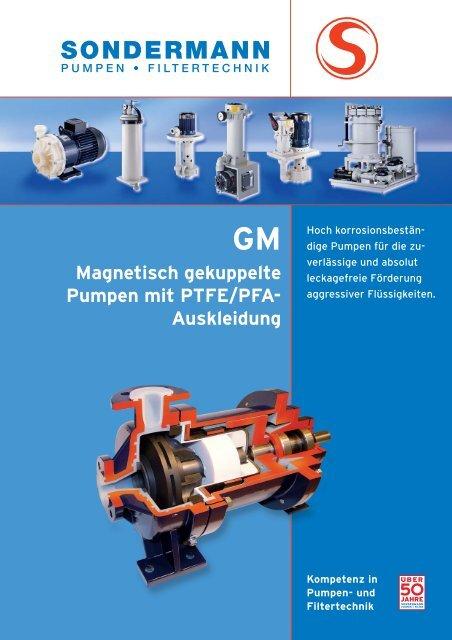 GM-Pumpen - SONDERMANN Pumpen + Filter GmbH & Co. KG