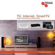 TV. Internet. SmartTV - TRIAX - Sonepar