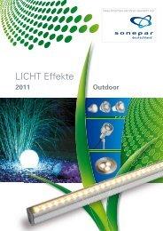 LICHT Effekte Outdoor 2011 - Sonepar