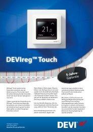 DEVIreg™ Touch - Sonepar