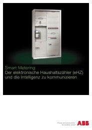 Smart Metering Der elektronische Haushaltszähler (eHZ ... - Sonepar