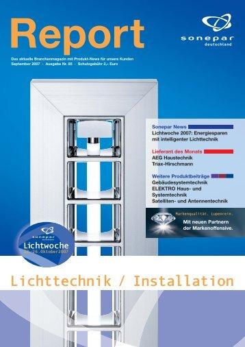 Lichttechnik / Installation - Sonepar