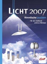 Licht 2007 - Himmlische Leuchten - Sonepar