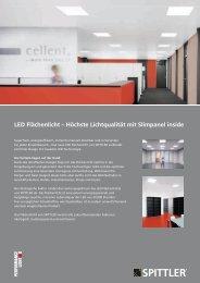 LED Flächenlicht – Höchste Lichtqualität mit Slimpanel ... - Sonepar