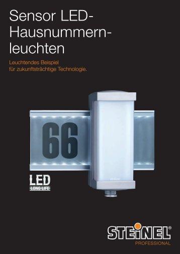 Sensor LED- Hausnummern- leuchten - Sonepar