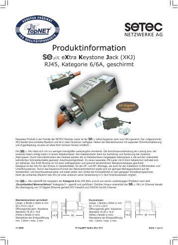 Produktinformation - Sonepar