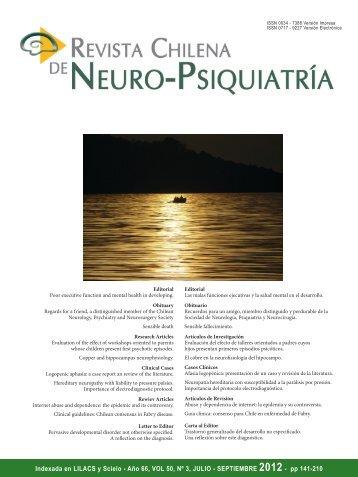 Revista 3-2012 (PDF) - Sonepsyn
