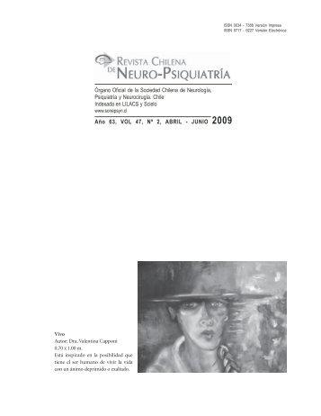 Año 63, VOL 47, Nº 2, ABRIL - JUNIO 2009 - Sonepsyn