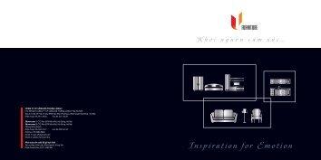 Brochure U-Furniture - Sông Đà Thăng Long