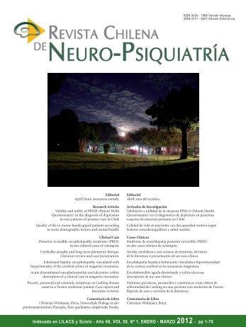 Revista 1-2012 (PDF) - Sonepsyn