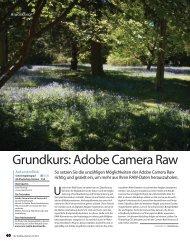 Grundkurs: Adobe Camera Raw - Sonic Media