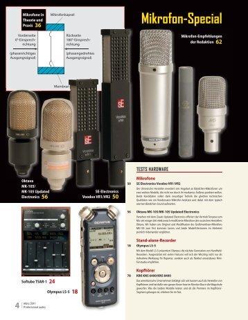 Mikrofon-Special - Sonic Media