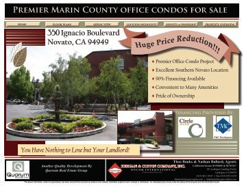 Premier Marin County office condos for sale - Sonic.net