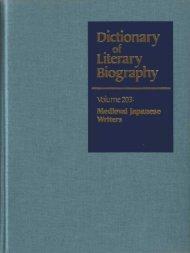"""Fujiwara Tameie."" In Dictionary of Literary Biography - Sonic.net"