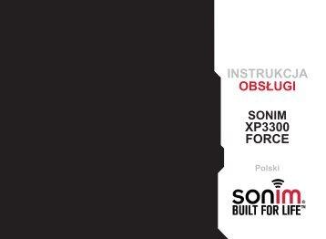 INSTRUKCJA OBSŁUGI XP3300 FORCE - Sonim Technologies