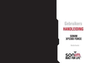 Sonim XP 3300 Force Handleiding
