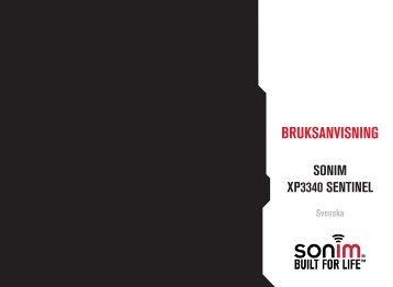 Bruksanvisning - Sonim Technologies