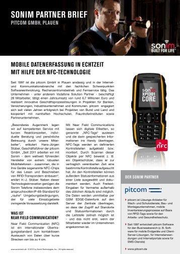 SONIM PARTNER BRIEF - Sonim Technologies