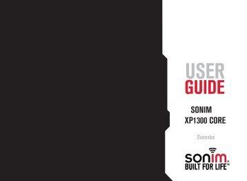 SONIM XP1300 CORE - Sonim Technologies