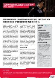 Eufinger case study - Sonim Technologies