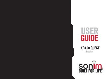 User Guide - Sonim Technologies