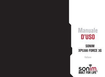 Manuale D'USO - Sonim Technologies