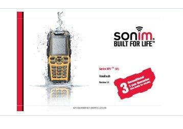 Bedienungsanleitung Sonim XP3 Enduro - Handy Deutschland