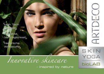 Innovative skincare - Sonjas Kosmetikstudio