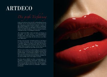 ARTDECO - Sonjas Kosmetikstudio