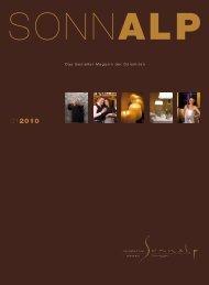 Das Genießer-Magazin der Dolomiten - Hotel Sonnalp