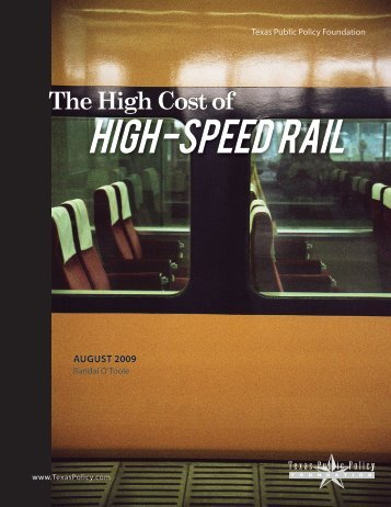 high -speed rail - American Dream Coalition