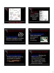 Notes-Scientific Method