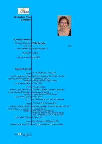 Currículum PDF - La Web de Milan