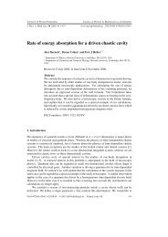 Rate of energy absorption for a driven chaotic cavity