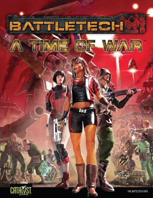 Battletech RPG - A Time of War