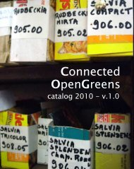 OpenGreens Connected - news