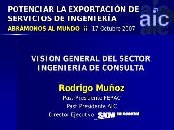 Visión General del sector Ingeniería de Consulta - Chile como ...