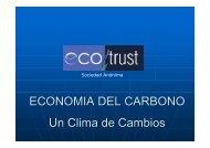 Presentación EcoTrust - Chile como exportador de servicios