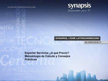 Presentación Synapsis - Chile como exportador de servicios