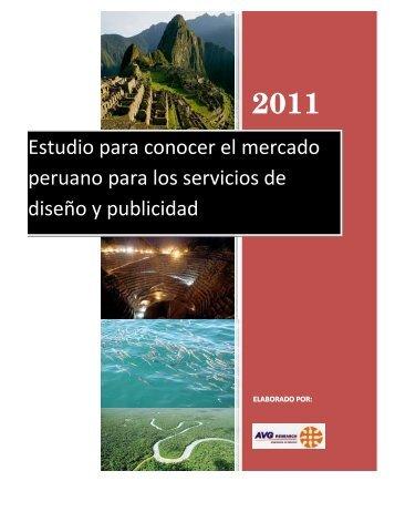 Estudio de Mercado Diseño y Publicidad en Perú. - Chile como ...